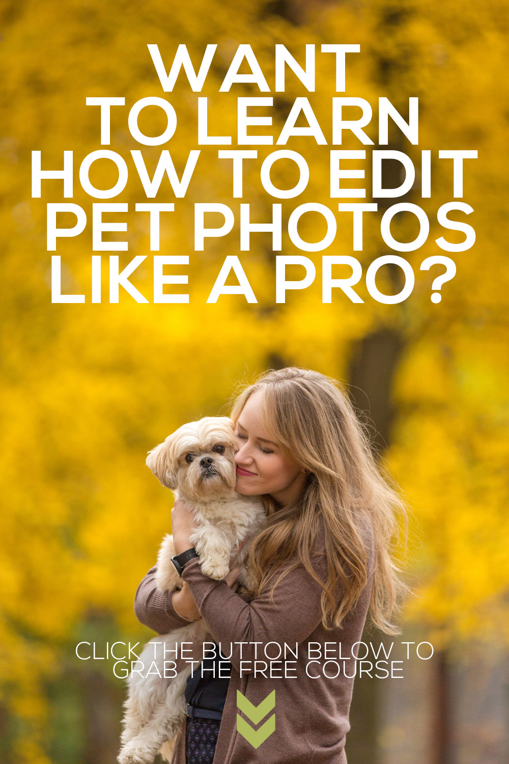 FREE Pet Photography Editing MasterClass