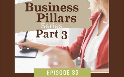 Business Pillar 3 – Website