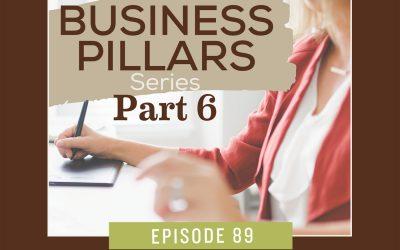 Business Pillar 6 – Marketing